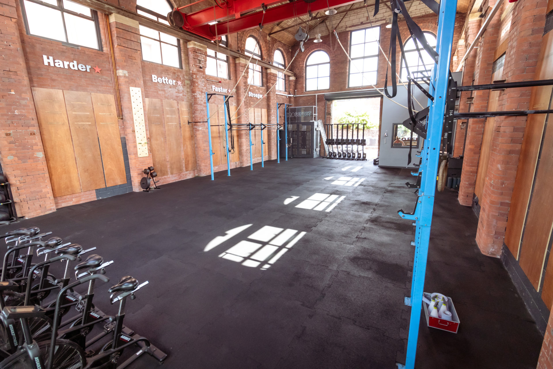 OUR TRAINING SPACE